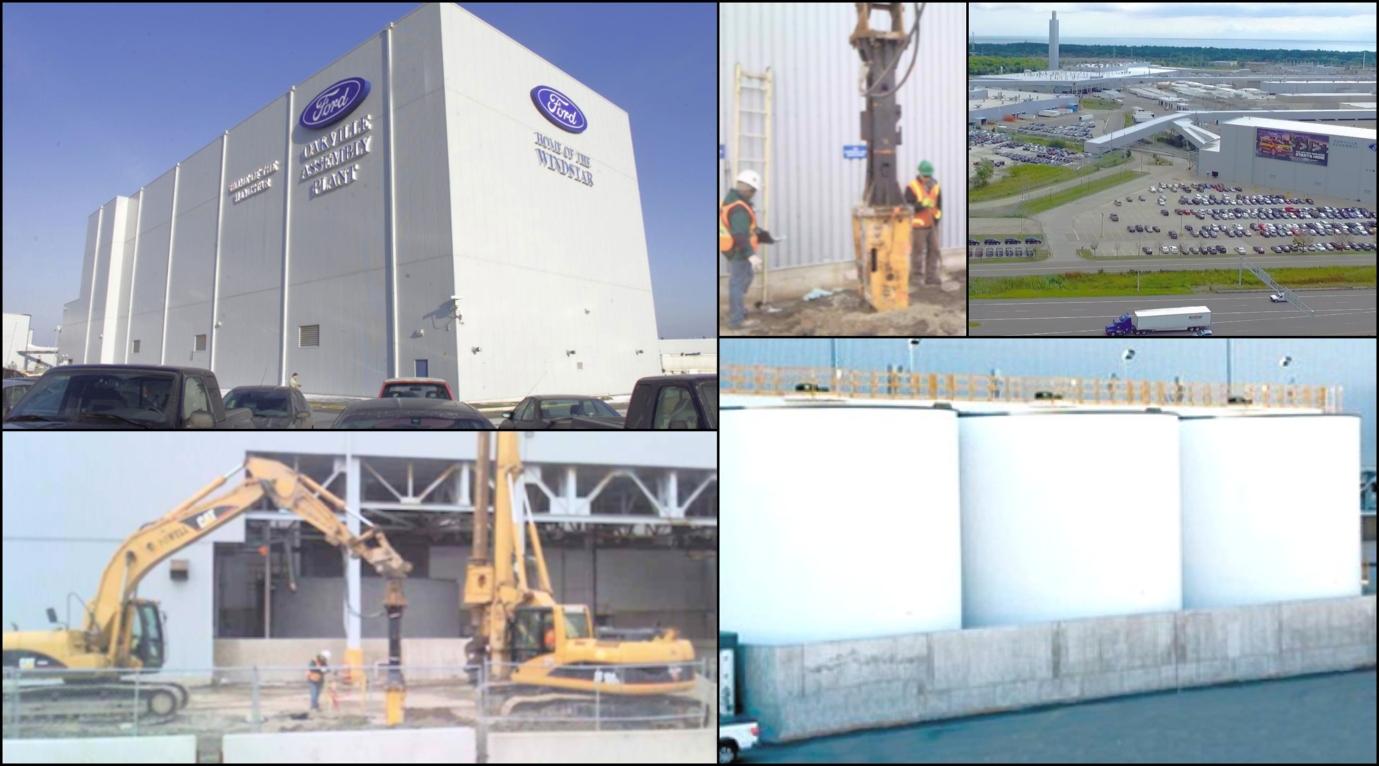 Ford Motor Company of Canada, Storage Tanks