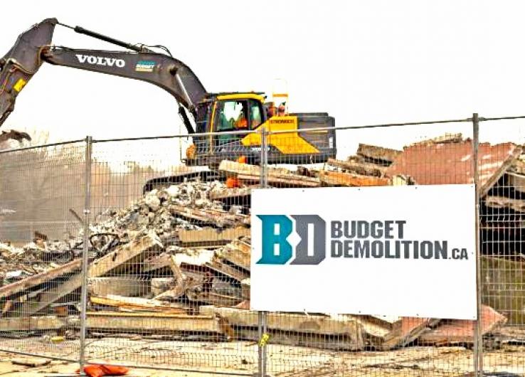 Demolishing in an Urban Infill Environment