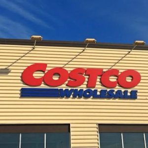 Geopier GP3 System used to provide soil reinforcement for new Costco
